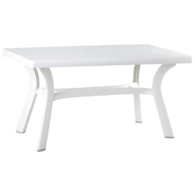 Sunrise Resin Rectangle Table 55 inch ISP182-WHI