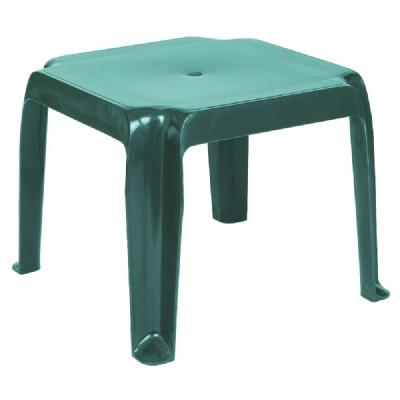 Sunray Resin Square Side Table - Green ISP240-GRE