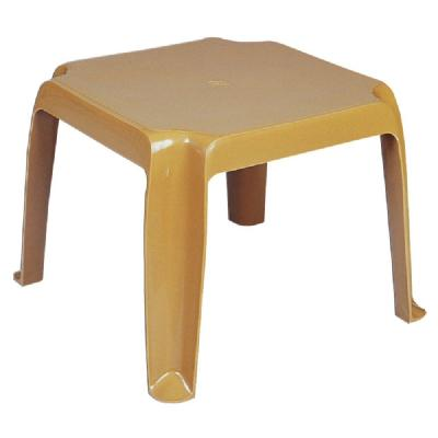 Sunray Resin Square Side Table - Cafe Latte ISP240-TEA