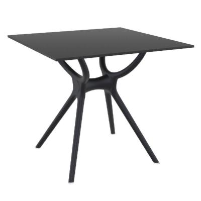 Air Square Dining Table 31 inch Black ISP700-BLA