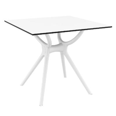Air Square Dining Table 31 inch White ISP700-WHI