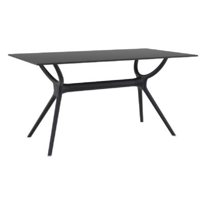 Air Rectangle Dining Table 55 inch Black ISP705-BLA