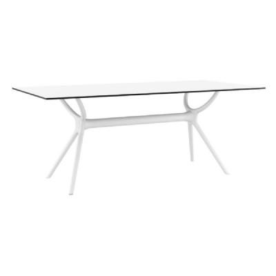 Air Rectangle Dining Table 71 inch White ISP715-WHI