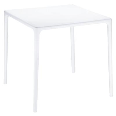Mango Square Dining Table White 28 inch ISP800-WHI