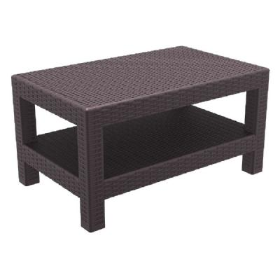 Monaco Wickerlook Lounge Table Brown ISP838-BR