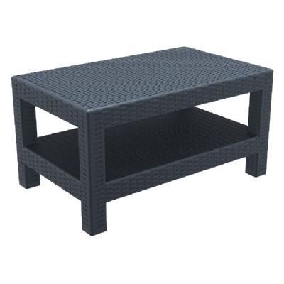 Monaco Wickerlook Lounge Table Dark Gray ISP838-DG