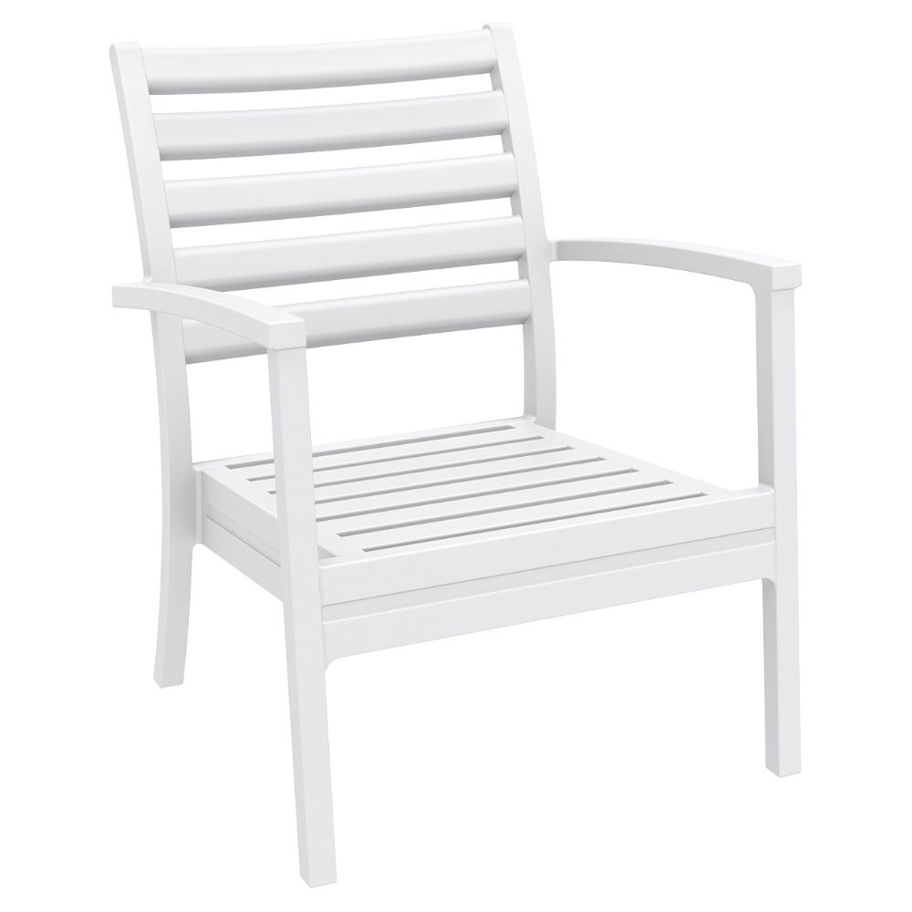 Artemis XL Outdoor Club Chair White ISP004-WHI