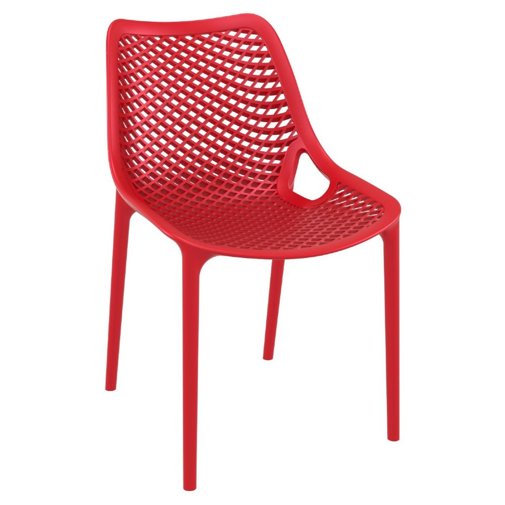 Air Outdoor Dining Chair Red ISP014-RED
