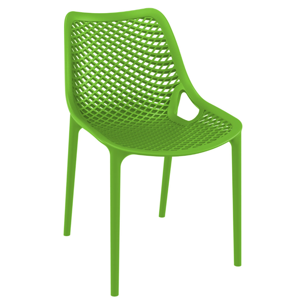 Air Outdoor Dining Chair Tropical Green ISP014-TRG