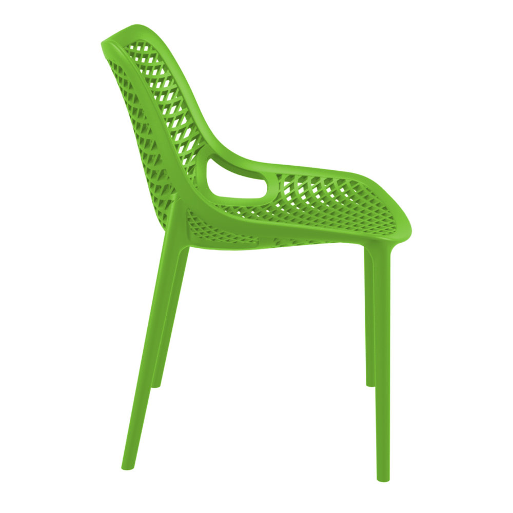 ... Air Outdoor Dining Chair Tropical Green ISP014 TRG   3 ...