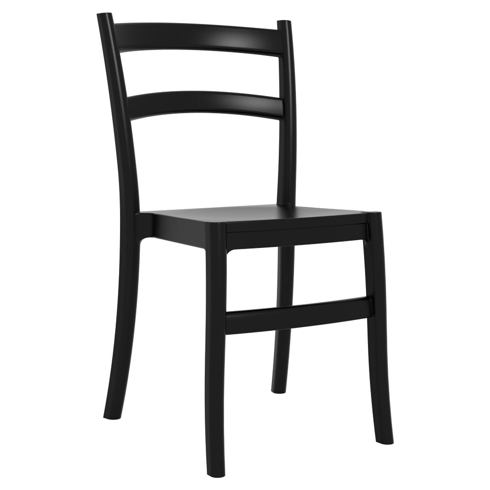 Tiffany Cafe Dining Chair Black ISP018-BLA