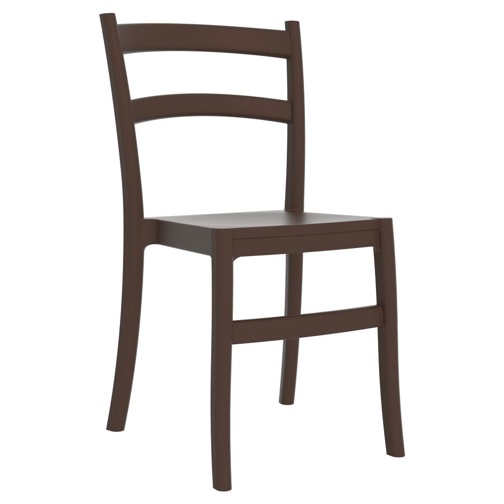 Tiffany Cafe Dining Chair Brown ISP018-BRW