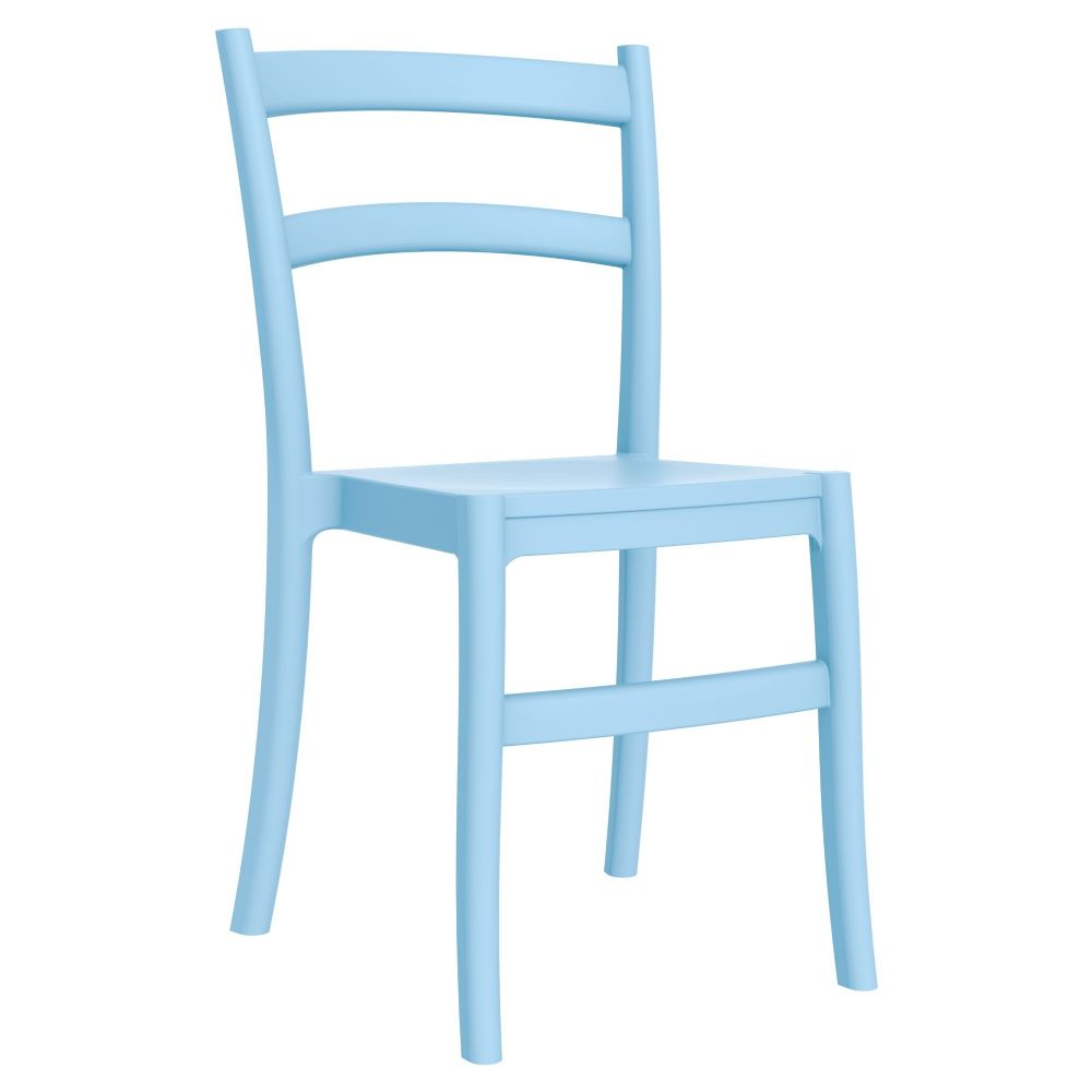 Tiffany Cafe Dining Chair Blue ISP018-LBL
