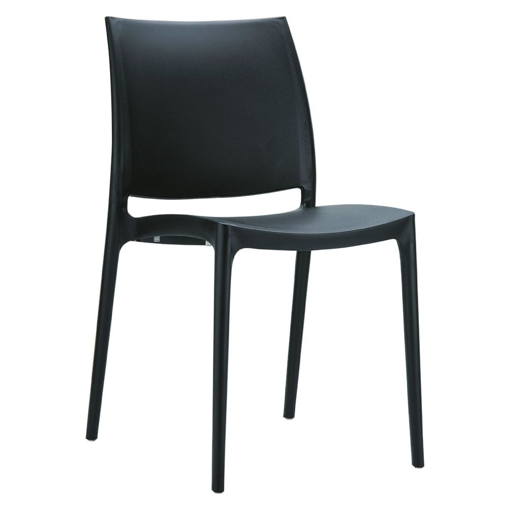 Maya Dining Chair Black ISP025-BLA