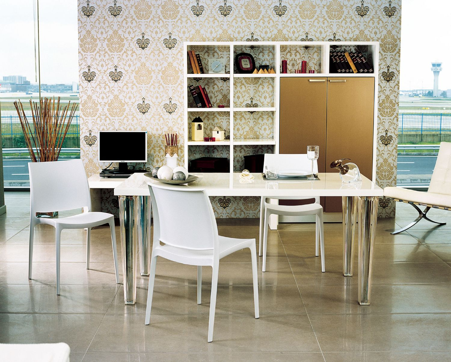 Maya Dining Chair Silver ISP025-SIL - 20