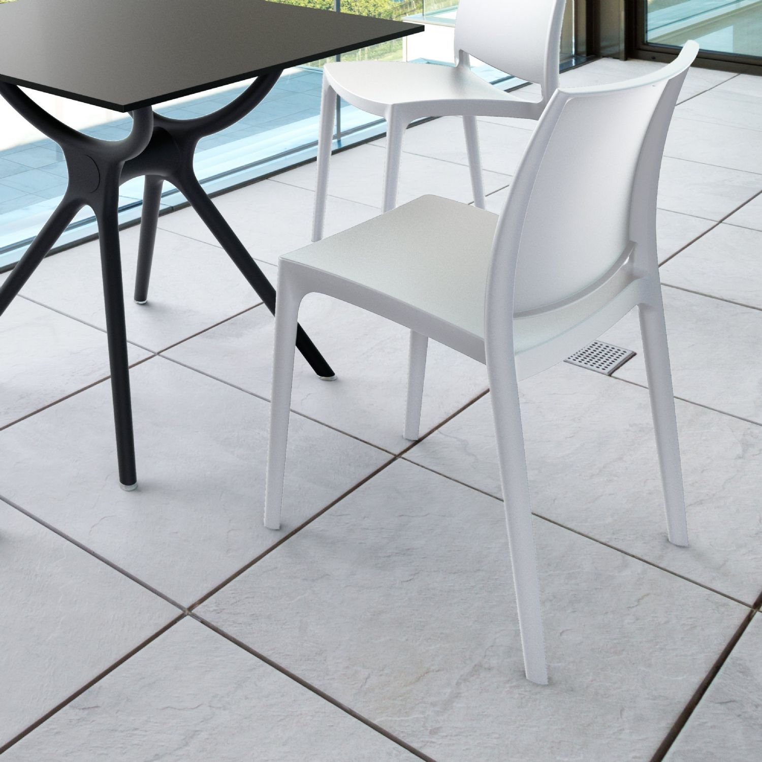 Maya Dining Chair Silver ISP025-SIL - 25