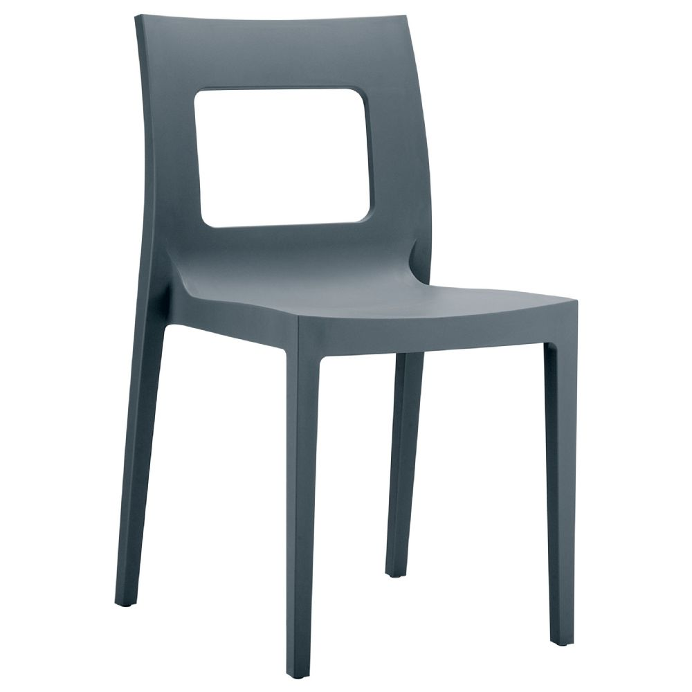 Lucca Dining Chair Dark Gray ISP026-DGR