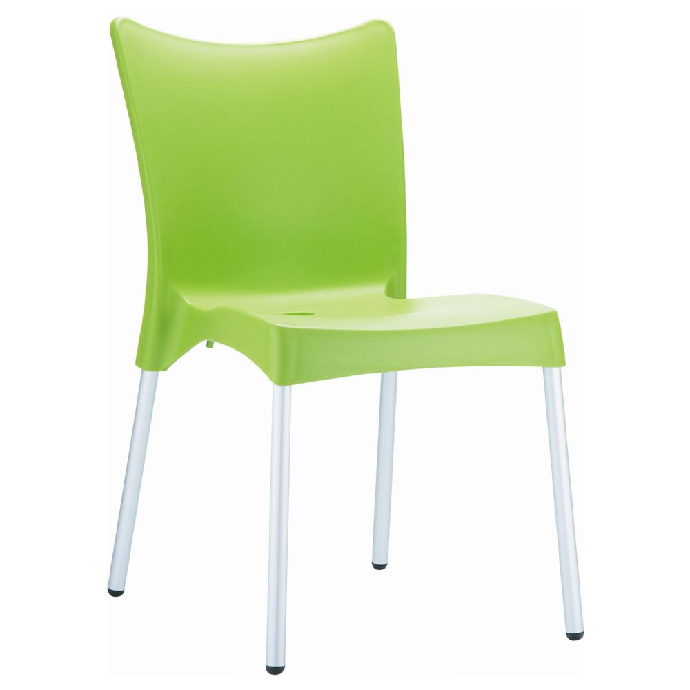 Juliette Resin Dining Chair Apple Green ISP045-APP