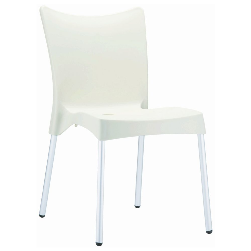 Juliette Resin Dining Chair Beige ISP045-BEI