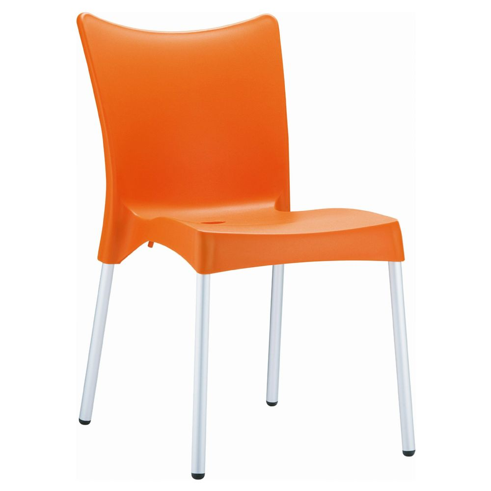Juliette Resin Dining Chair Orange ISP045-ORA