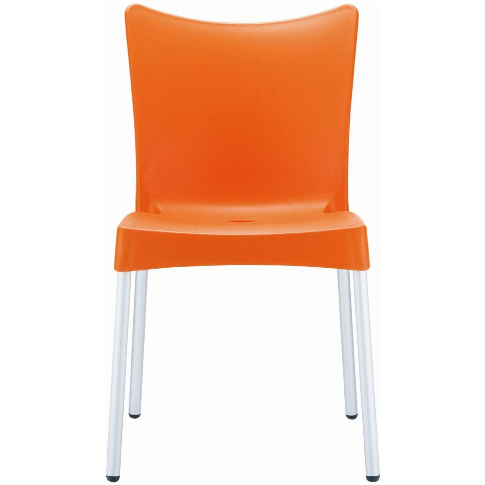 Compamia Juliette Resin Dining Chair Orange Isp045 Ora
