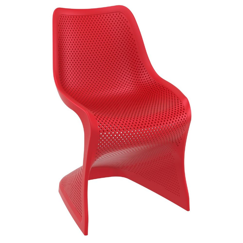 Bloom Modern Dining Chair Red ISP048-RED