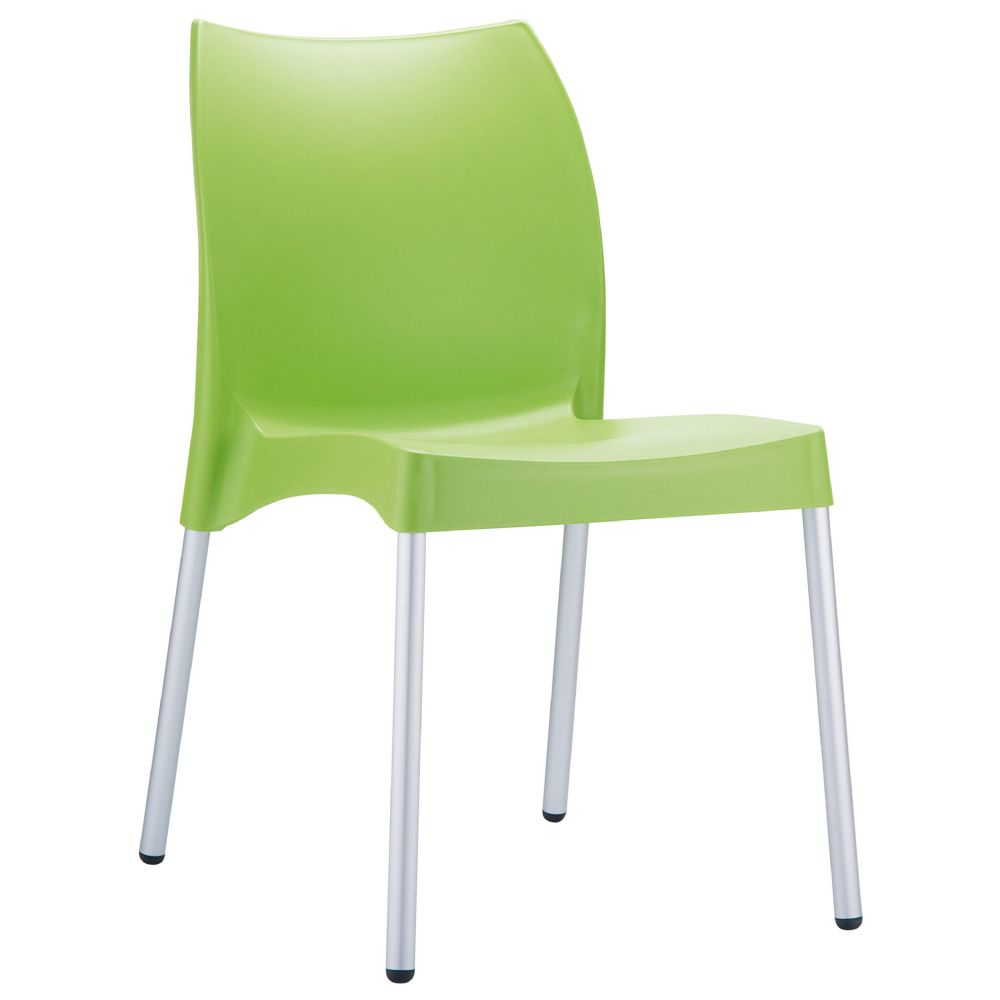 Vita Resin Outdoor Dining Chair Apple Green ISP049-APP
