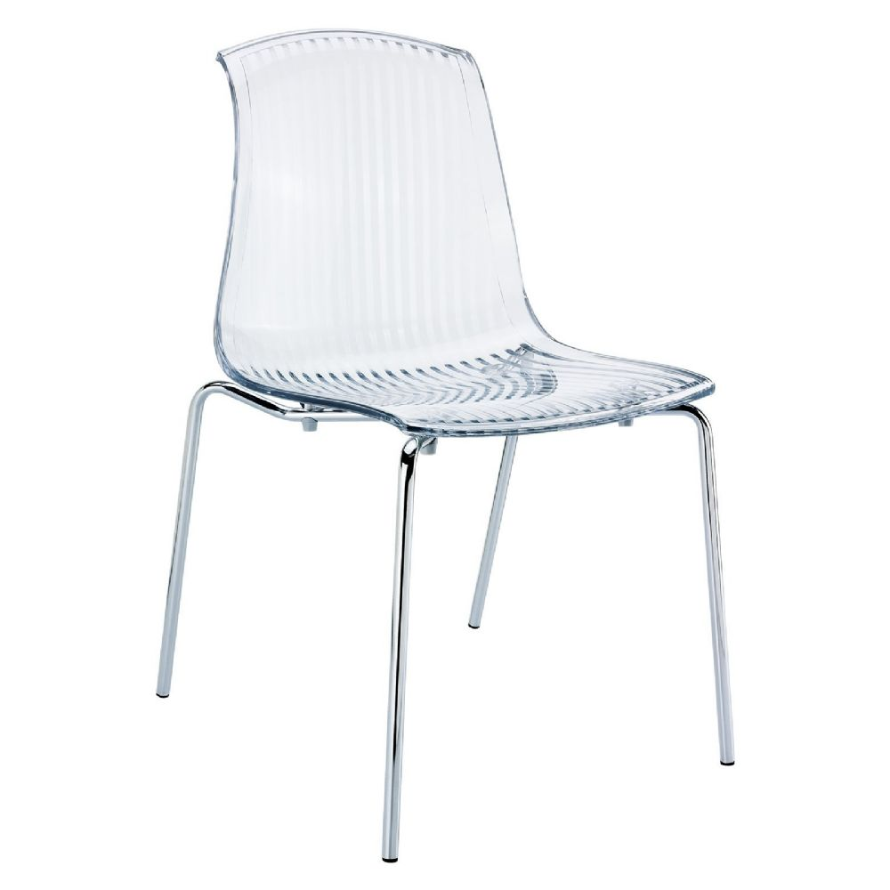 Allegra Indoor Dining Chair Transparent Clear ISP057-TCL