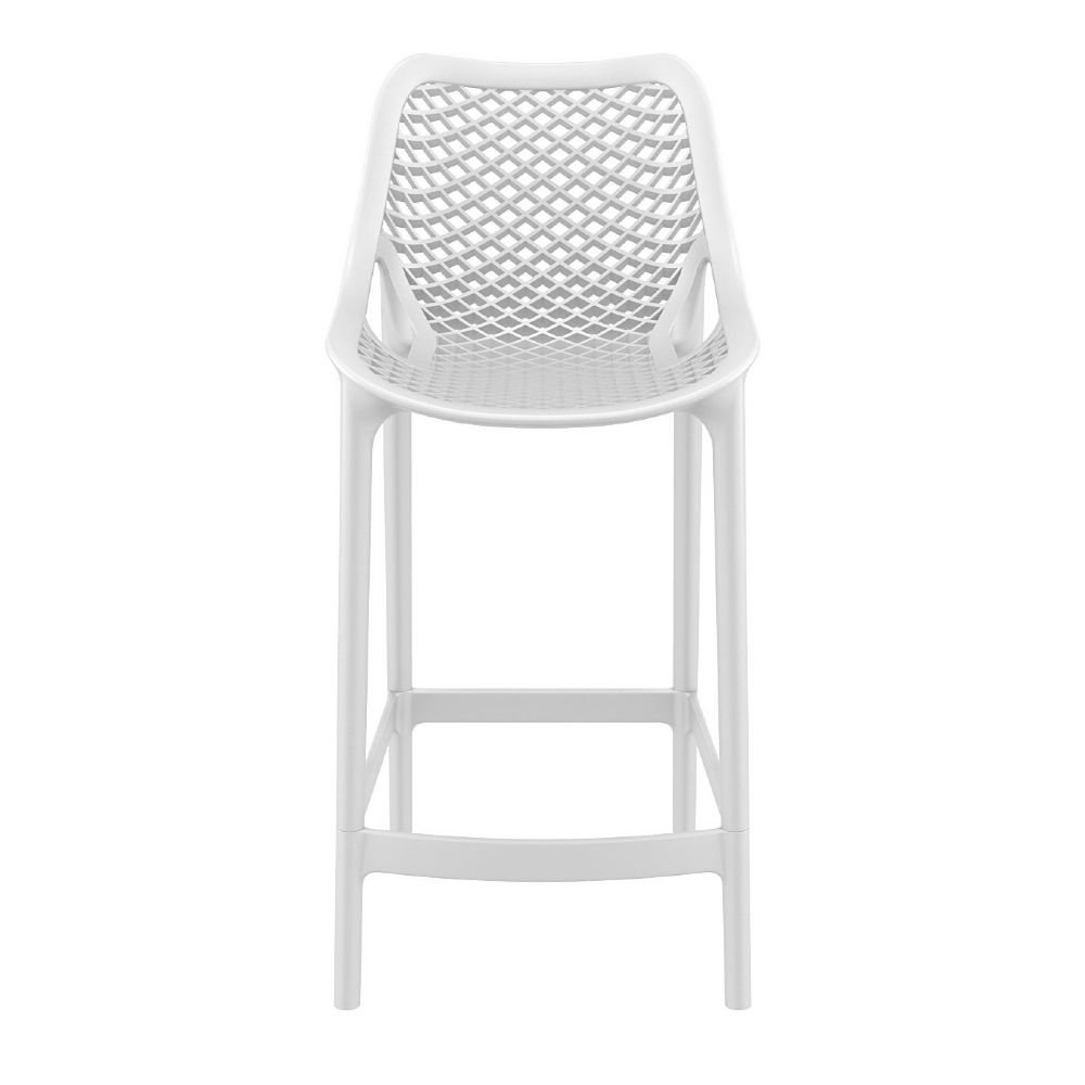 Compamia Air Resin Outdoor Counter Chair White Isp067 Whi