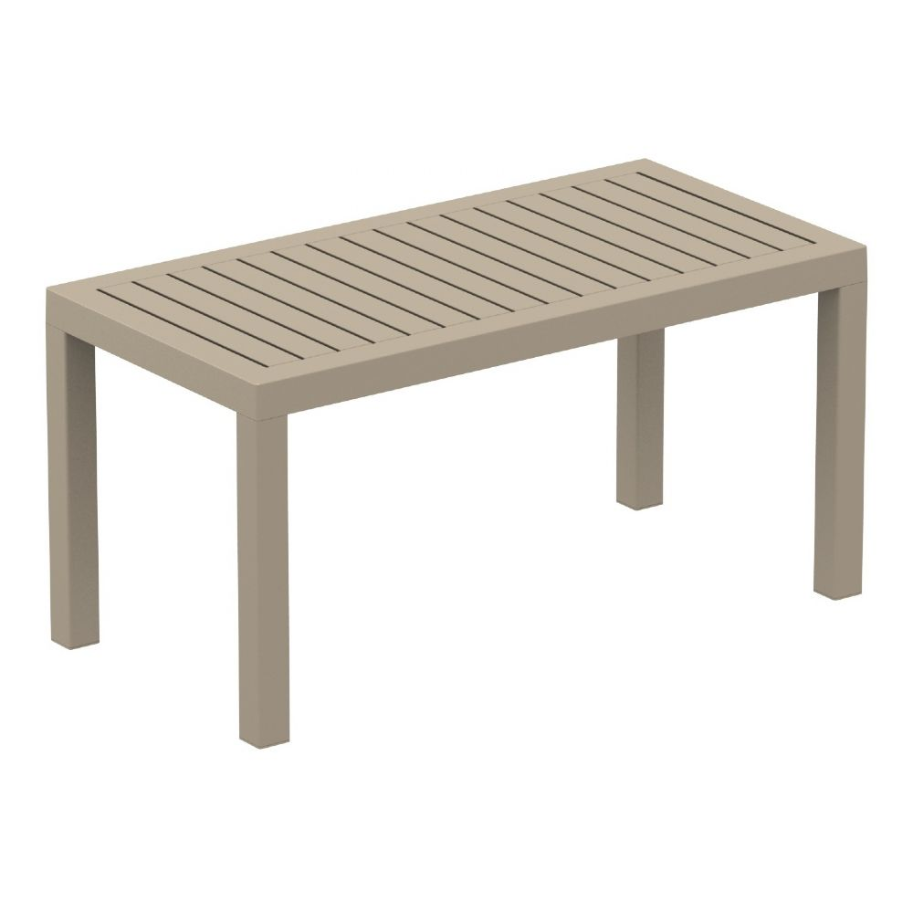 Ocean Rectangle Coffee Table Taupe ISP069-DVR