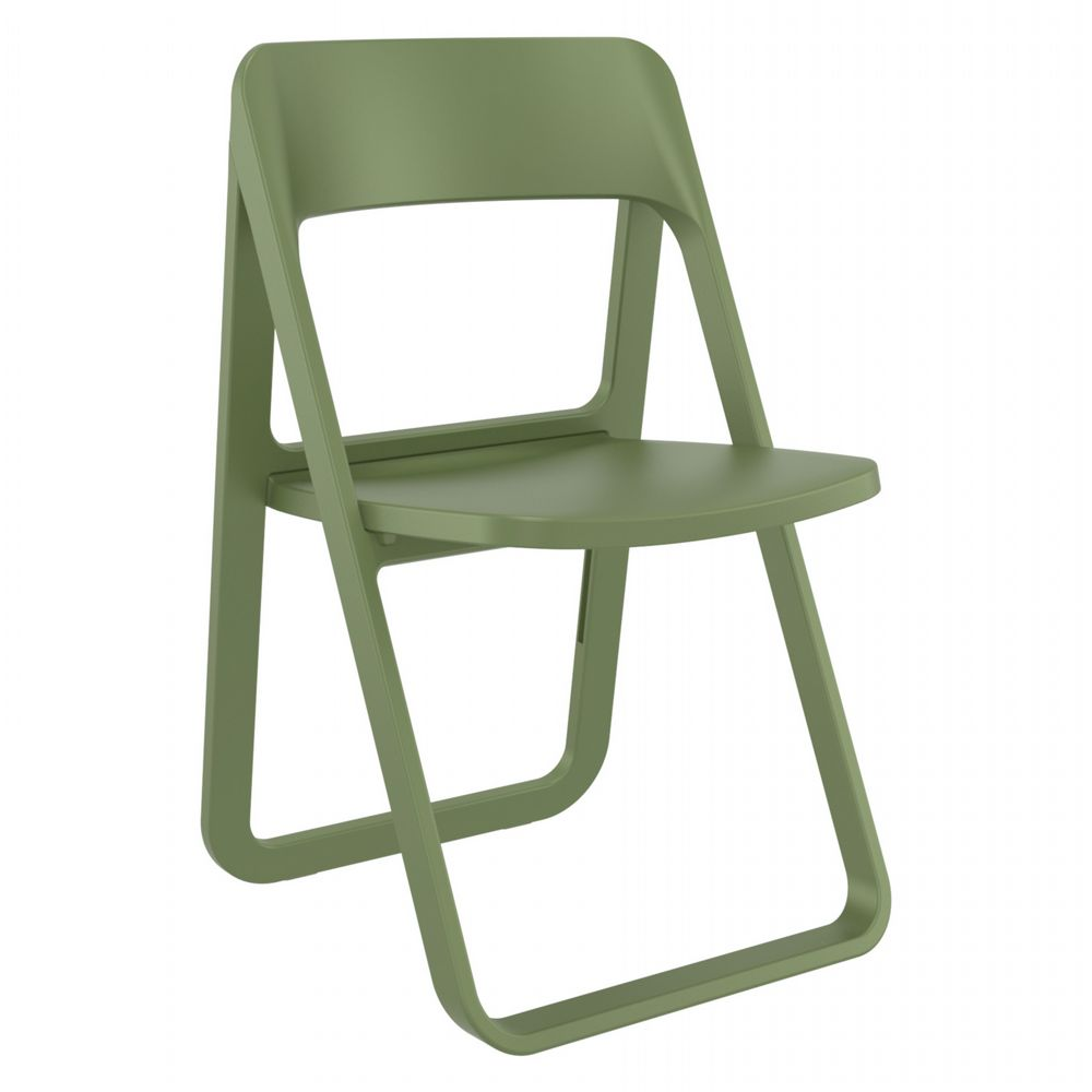 Dream Folding Outdoor Chair Olive Green ISP079-OLG