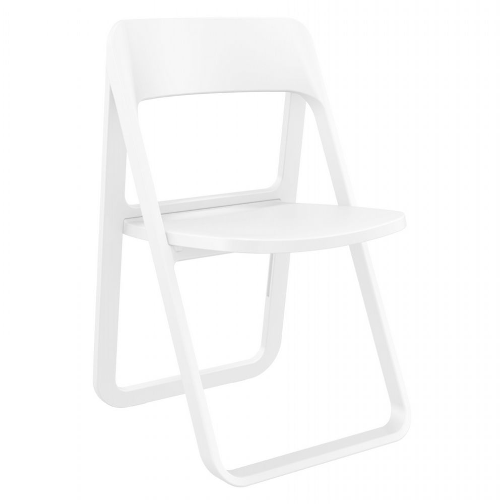 Dream Folding Outdoor Chair White ISP079-WHI