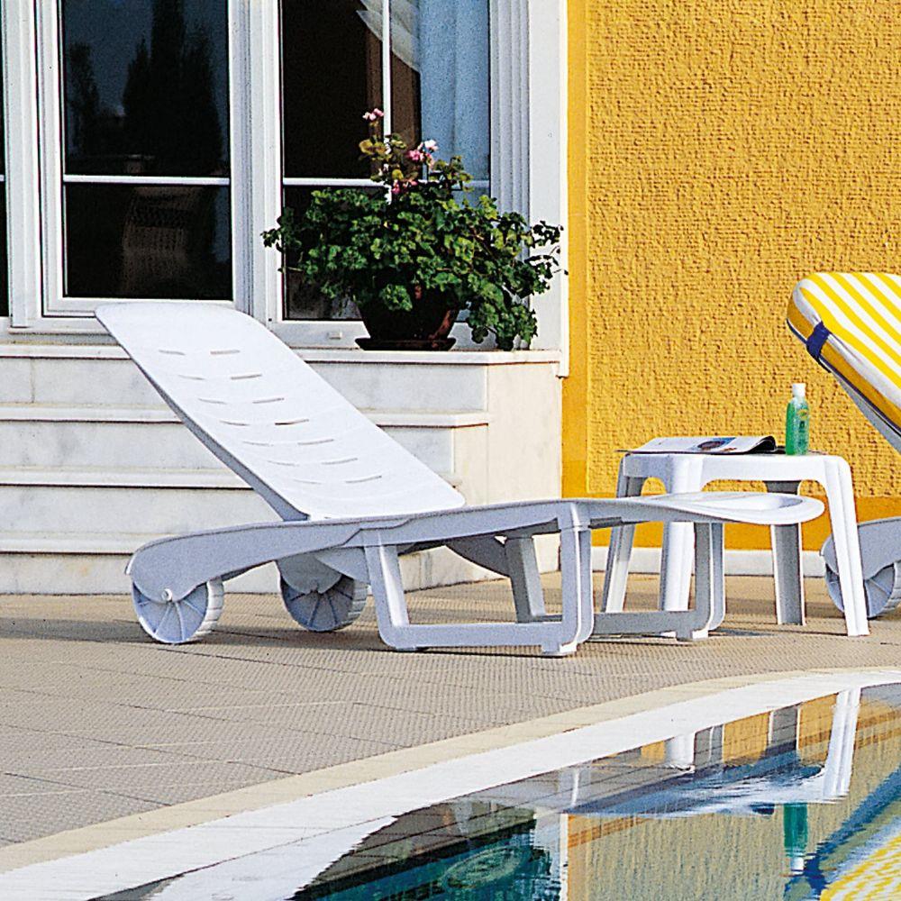 Compamia Sundance Pool Chaise Lounge Isp080 Whi