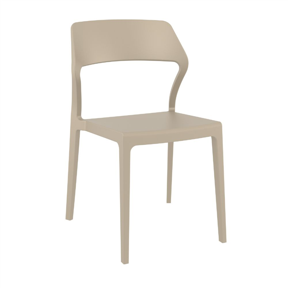 Snow Dining Chair Dove Gray ISP092-DVR