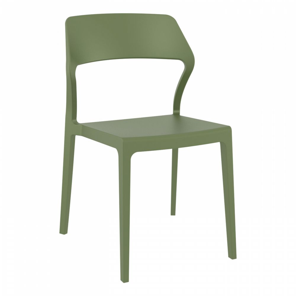 Snow Dining Chair Olive Green ISP092-OLG