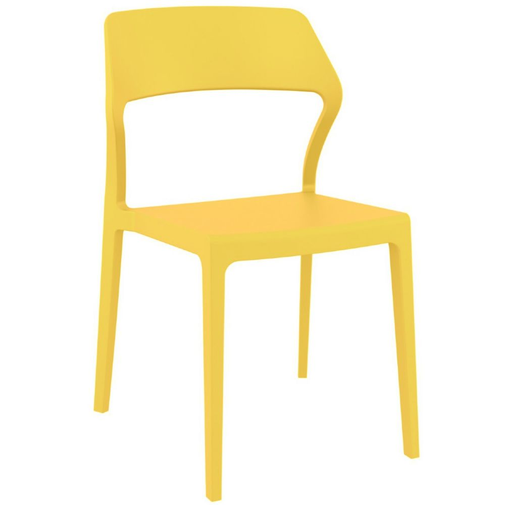 Snow Dining Chair Yellow ISP092-YEL