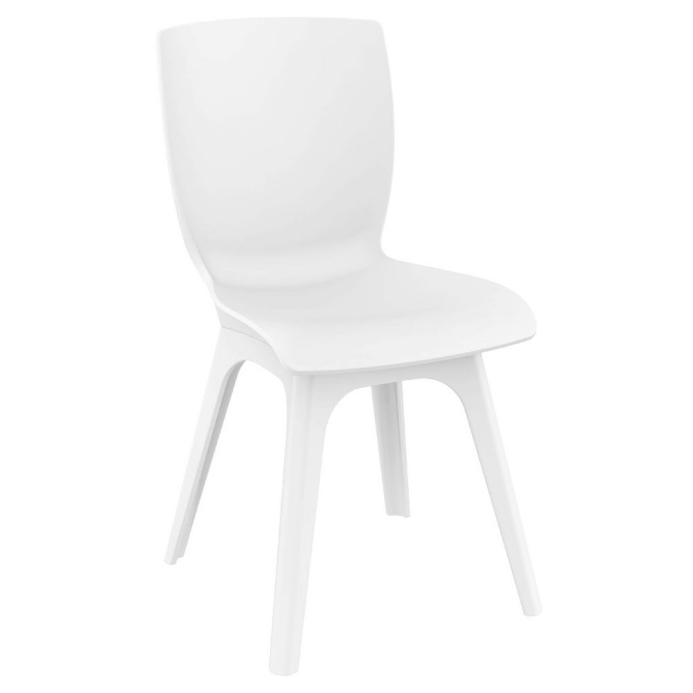 Mio PP Dining Chair White ISP094-WHI-WHI