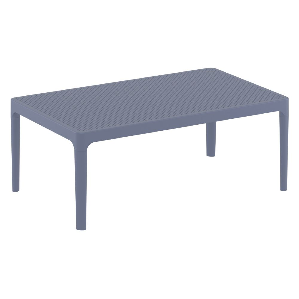 Sky Outdoor Coffee Table Dark Gray ISP104-DGR