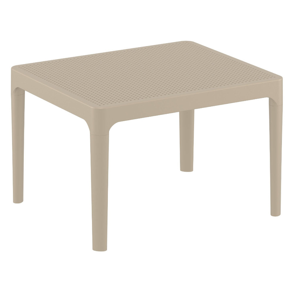 Sky Outdoor Side Table Taupe ISP109-DVR