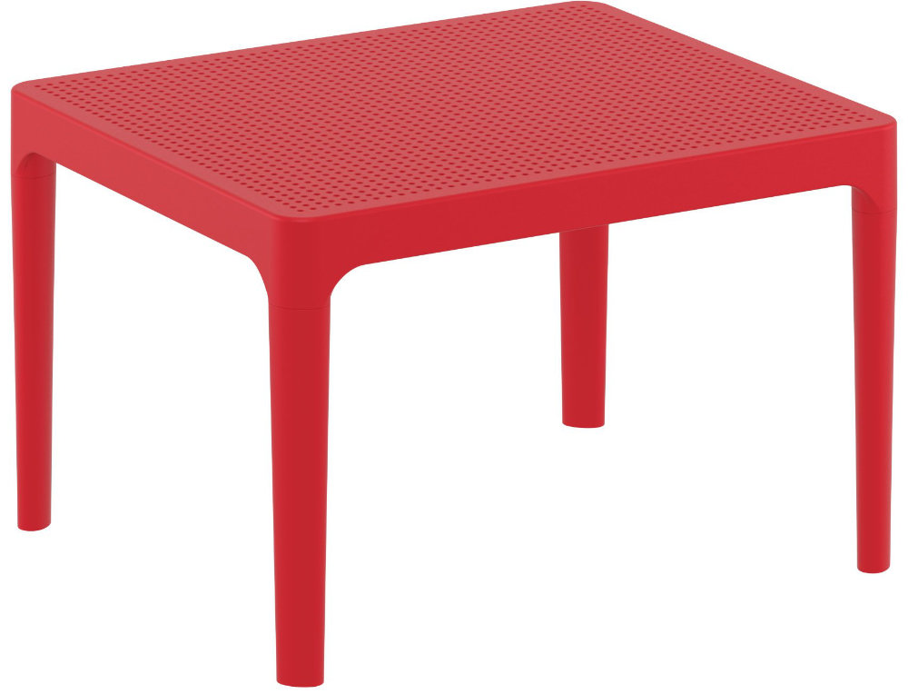 Sky Outdoor Side Table Red ISP109-RED