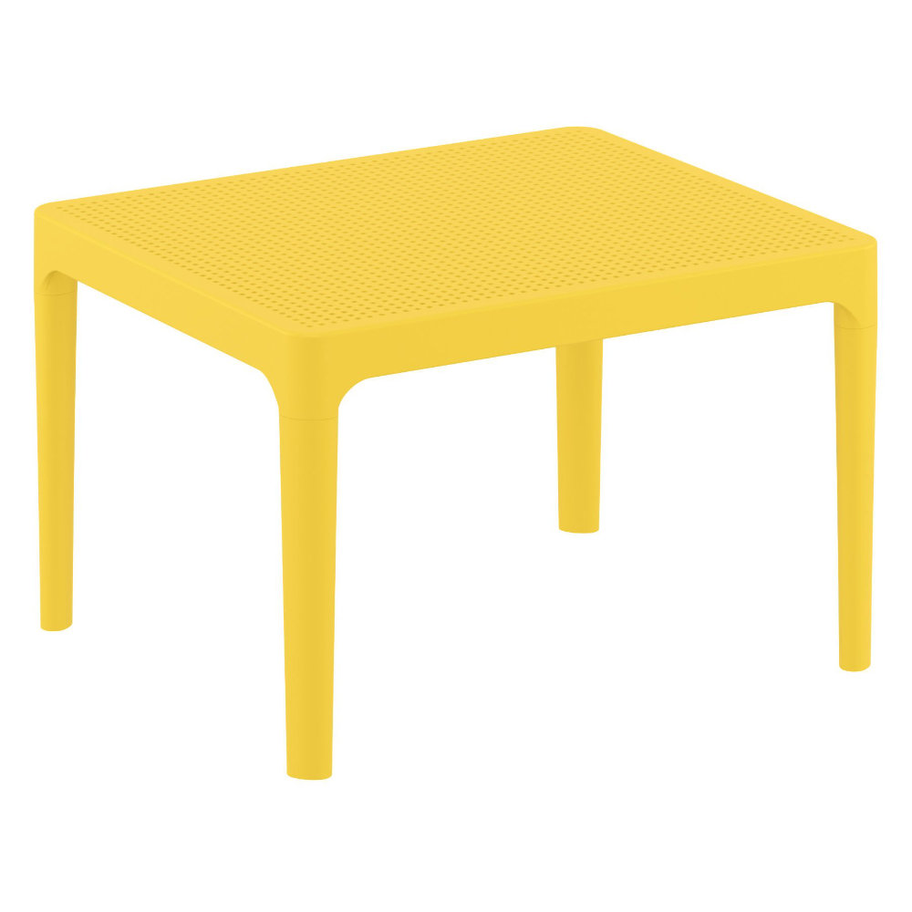 Sky Outdoor Side Table Yellow ISP109-YEL