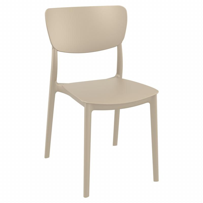 Monna Dining Chair Taupe ISP127-DVR