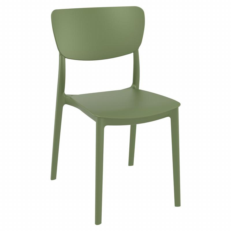 Monna Dining Chair Olive Green ISP127-OLG