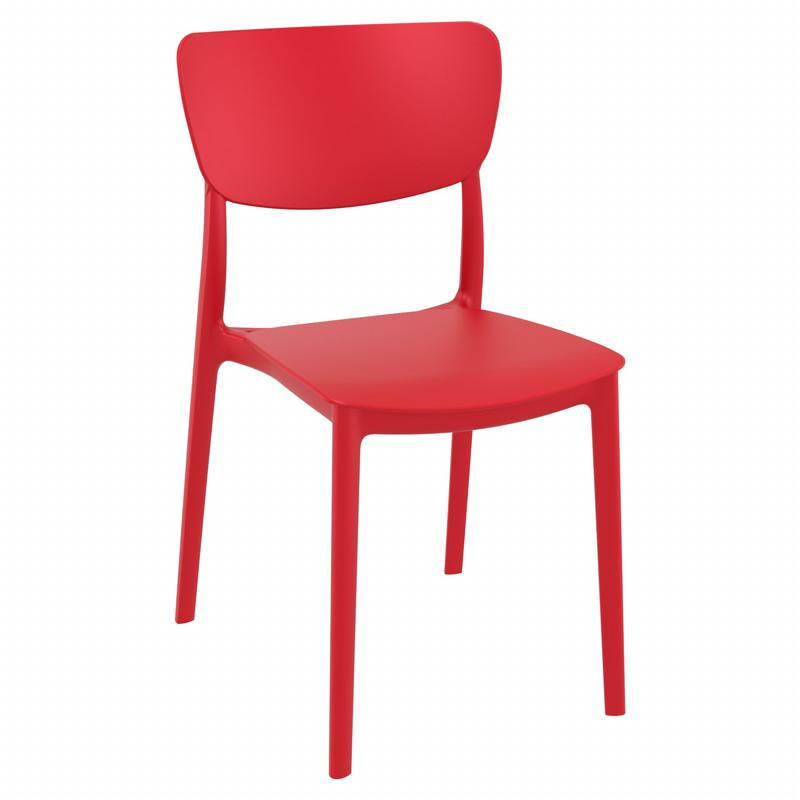 Monna Dining Chair Red ISP127-RED