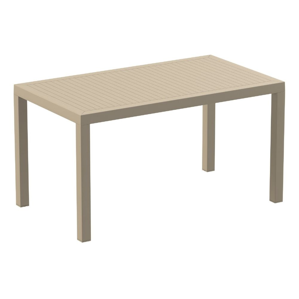 Ares Rectangle Outdoor Table 55 inch Taupe ISP186-DVR
