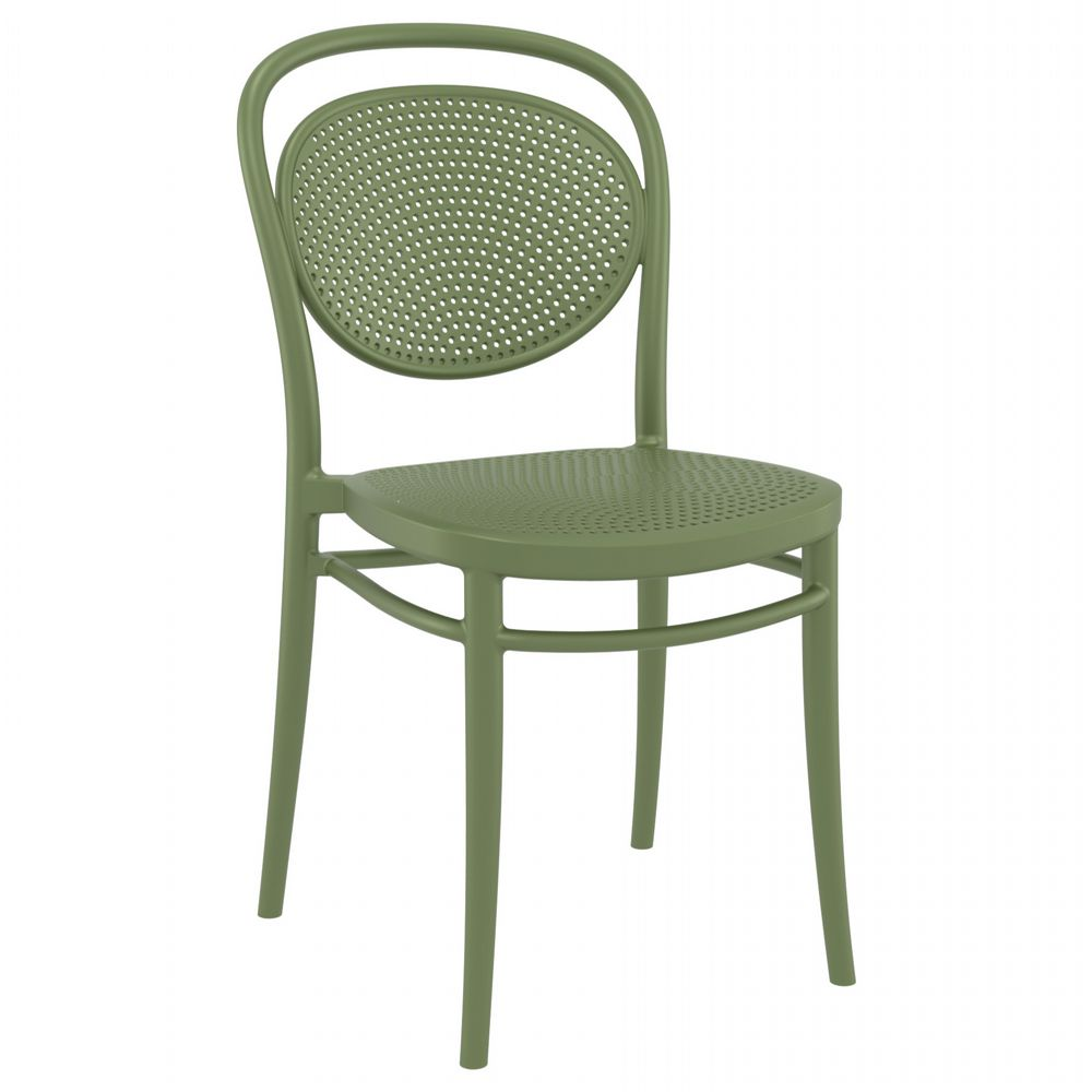 Marcel Resin Outdoor Chair Olive Green ISP257-OLG