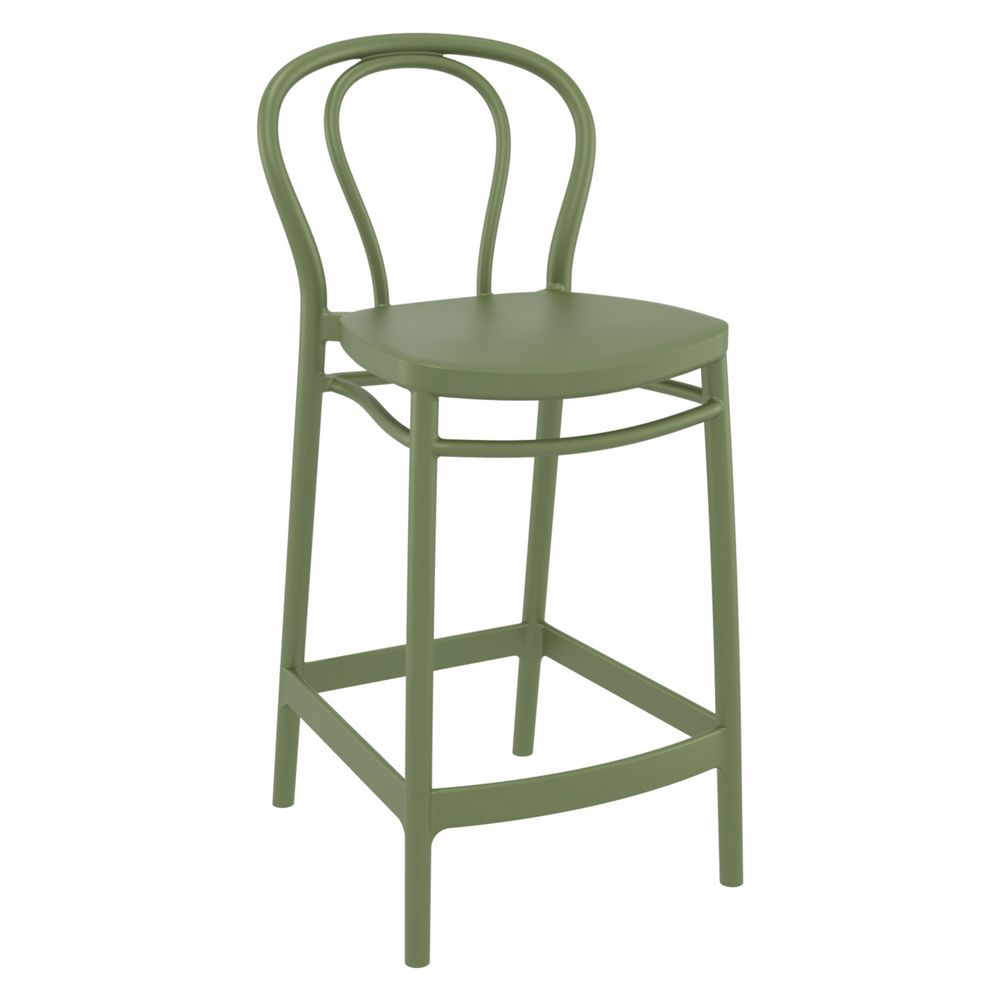 Victor Counter Stool Olive Green ISP261-OLG