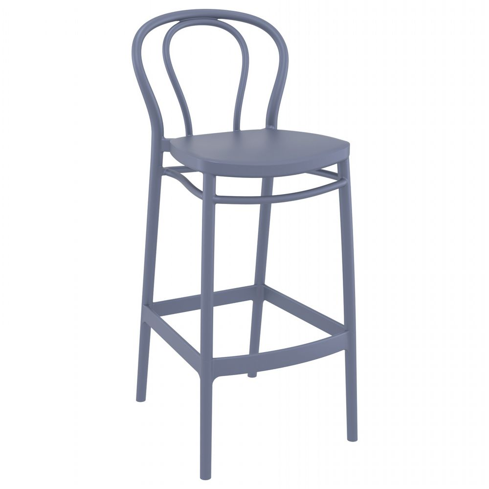 Victor Bar Stool Dark Gray ISP262-DGR
